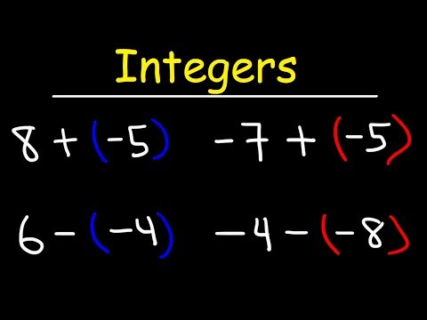 Adding and Subtracting Integers Using a Simple Method