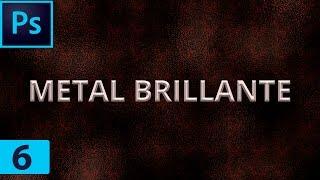 🅿 Tutoriales Photoshop - Efecto de Metal Brillante