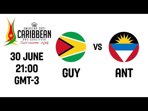 LIVE - Guyana v Antigua - Final - FIBA AmeriCup 2021 - CBC Prequalifiers