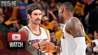 Kevin Love Full Highlights vs Pacers (2015.11.08) - 22 Pts, 19 Reb, CLUTCH!