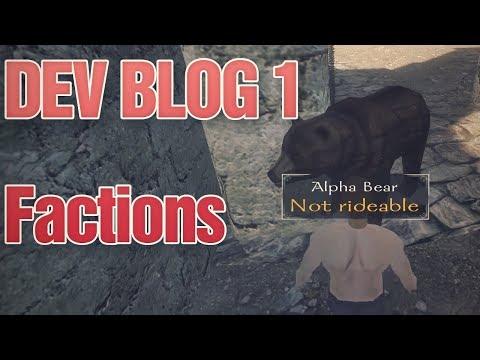 DEVBLOG 1 : COMMERCE, ANIMAUX ET FACTIONS