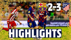 HIGHLIGHTS | Barça 2-3 Atlético Madrid