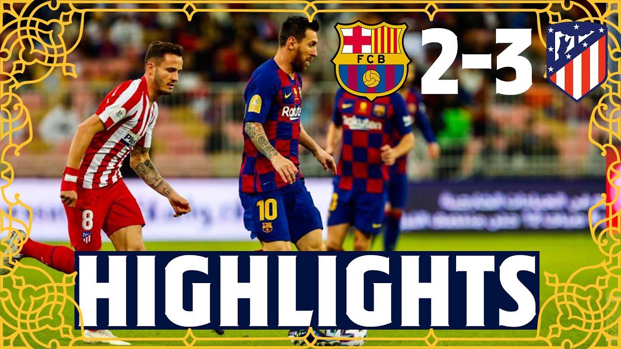 Барселона  2-3  Атлетико видео