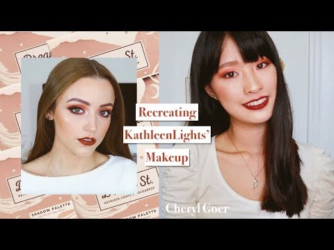 RECREATING KathleenLights' Makeup | Cheryl Goer thumbnail