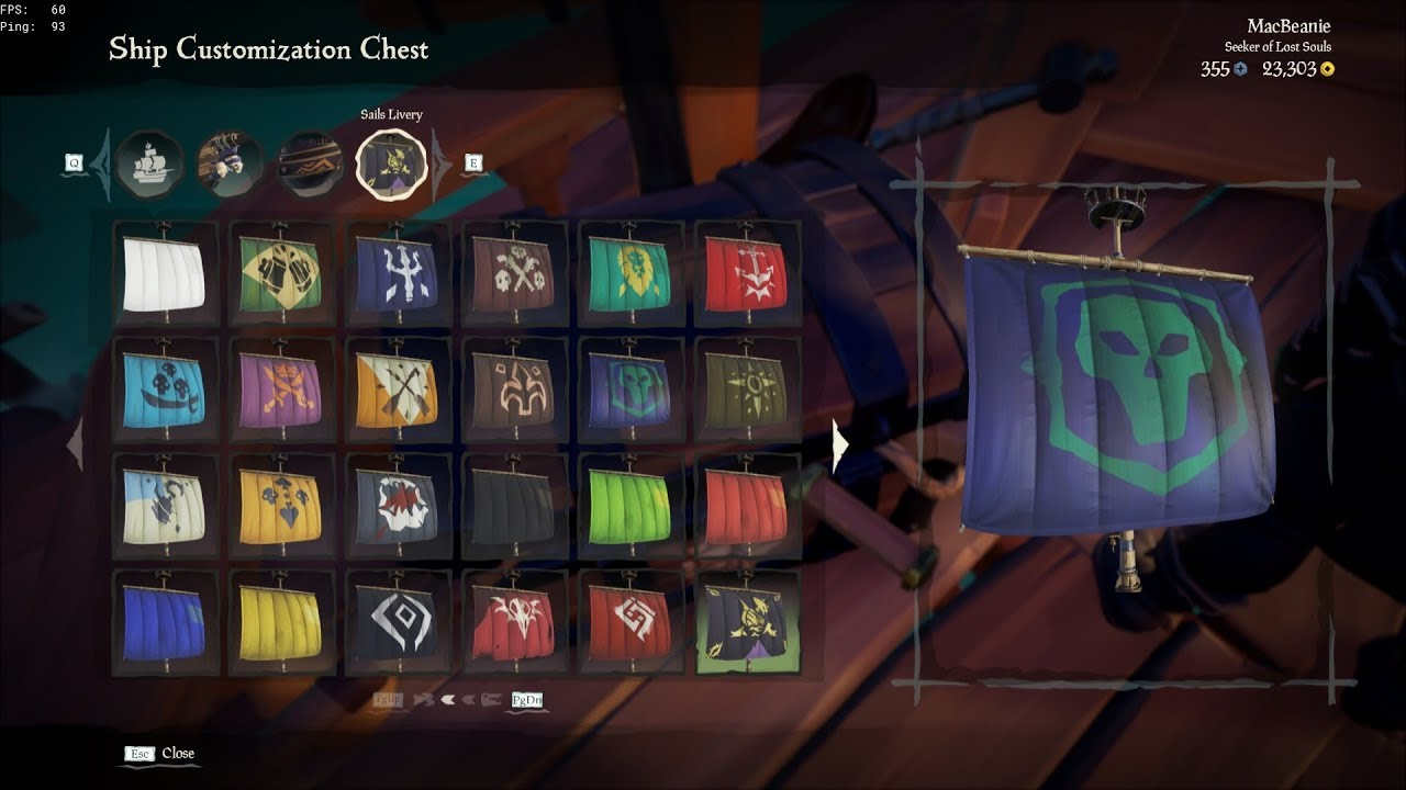 (Almost) Every Ship Hull/Sail/Figurehead in Sea of Thieves!