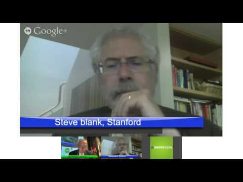 Clean Energy Business Plan Competition: Fireside Chat w/ Steve Blank