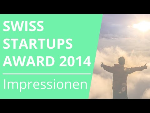 Impressionen - SWISS STARTUPS AWARDS 2014