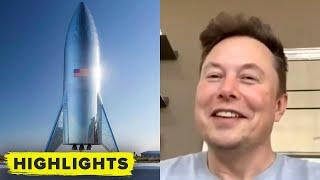 Elon Musk reveals SpaceX Starship Launch Plan to Mars