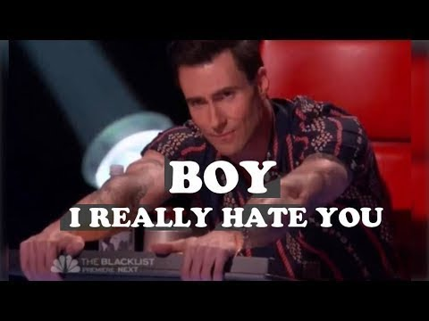 He made Adam cry like a ba in The Voice   what happened???