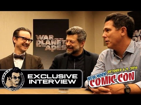 War for the Planet of the Apes Exclusive Interview - Andy Serkis, Matt Reeves & Dylan Clark
