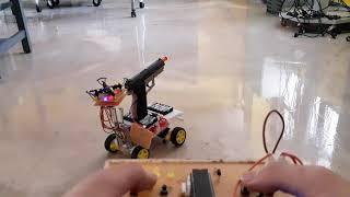고등학교 졸업작품 무선조종 비비탄총 자동차(BB탄총 R…