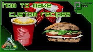 Ark Basics - Custom Recipes - Crafting Skill - Everything You Need To Know