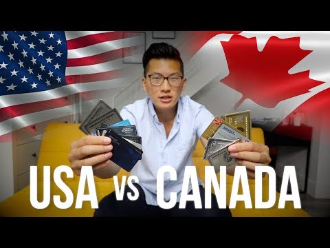 The Credit Card Game: Americans Vs. Canadians