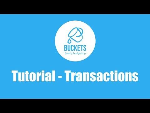 Buckets Tutorial 5: Transactions