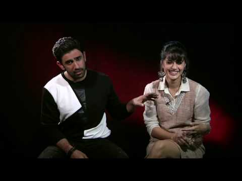 EXCLUSIVE INTERVIEW | TAAPSEE PANNU | AMIT SADH | RUNNING SHAADI | PART 1