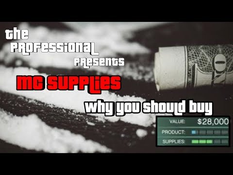 GTA Why you should buy supplies and not steal