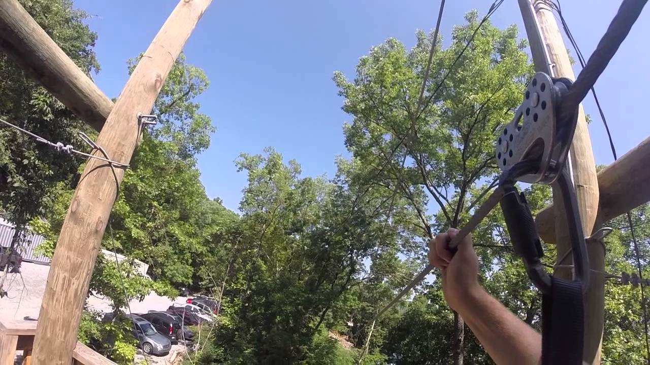 Ruby Falls Zip Line Youtube