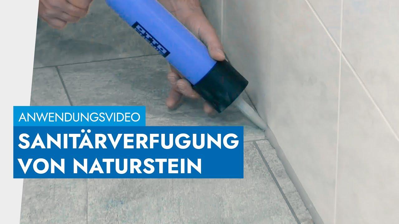Amüsant Klepfer Naturstein Ideen Von Im Sanitärbereich Abdichten Mit Ottoseal® S 130