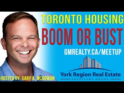 Toronto Housing Market Boom or Bust