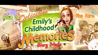 Delicious: Emily's Childhood Memories [Gameplay] (Days 1 and 2) - the Farm (1970)