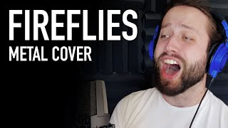 Fireflies - Owl City (METAL COVER by Jonathan Young)