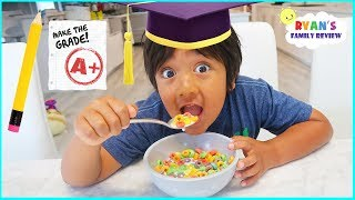 Ryan's Last Day of School Morning Routine!!!
