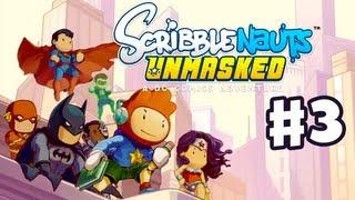 Scribblenauts Unmasked - Gameplay Walkthrough Part 3 - Green Lantern Vs. Sinestro! (PC, Wii U, 3DS)