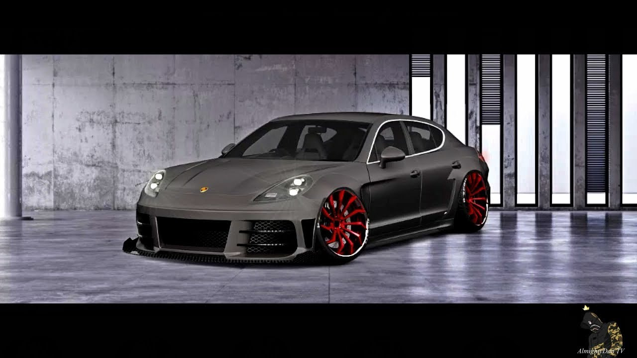 Slammed And Stanced Porsche Panamera Tuning