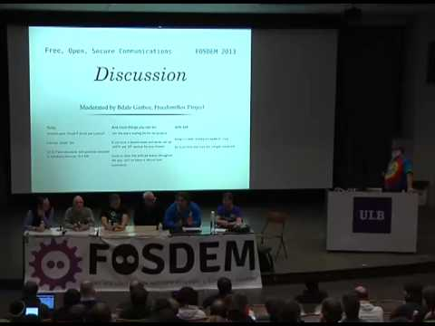 [FOSDEM 2013] Free, open, secure and convenient communications