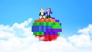 ÜBERLEBEN AUF 1 LEGO PLANET IN MINECRAFT!