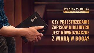"""Film ewangelia """"Wiara w Boga"""" Klip filmowy (4) – Czy przestrzeganie praw zapisanych w Biblii jest równoznaczne z wiarą w Pana?"""