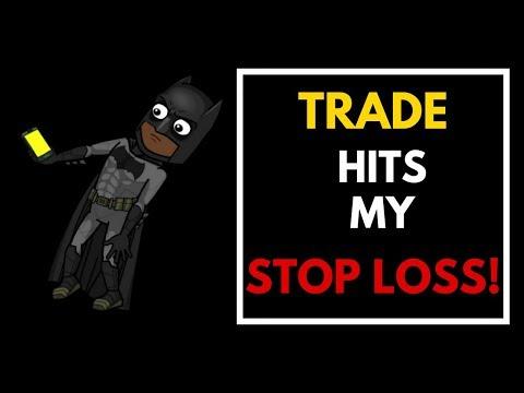 Trade Hits My STOP LOSS! (LIVE VIDEO) - USDCAD Live Trade 18 May 2018