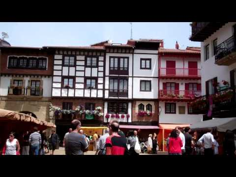 Our fun day trip to Hondarribia, ES and Hendaye, FR - June 2011