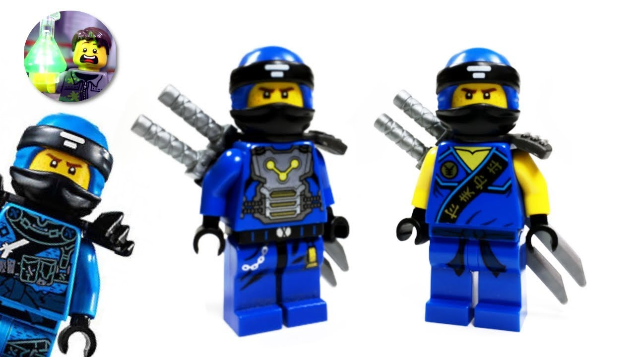 Lego Ninjago Custom Jay Minifigure From Hunted Youtube