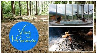 Dovolená na Moravě: hledání kešek, lesní bar, WELLNESS VLOG | Markéta Venená