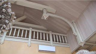 Деревянный потолок , чем покрыть?(В данном видео я показываю свое виденье покрытия деревянной вагонки на потолке Мой сайт http://amarant-pro.ru/ Мой..., 2015-02-21T15:36:02.000Z)