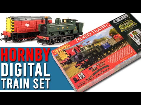 Digital Train Set With TWO Trains! | Hornby Mixed Traffic | Unboxing & Review