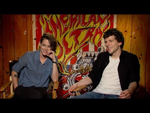 Kristen Stewart and Jesse Eisenberg Talk 'American Ultra' and Having Great Chemistry