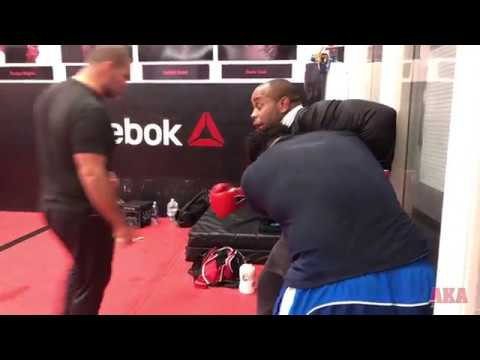 Pt 3/3 Pro Team Sparring with Cain Velásquez, Daniel Cormier, James Lawson III, and Chuck Campbell