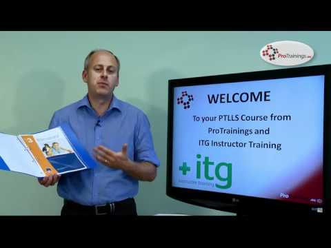 Introduction to your PTLLS course with ITG Instructor Training