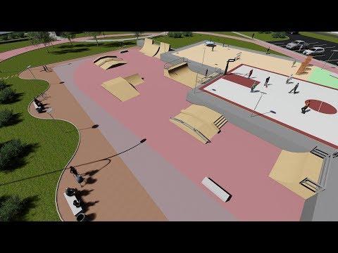 Скейт парк к 40-летию города и планы по благоустройству набережной
