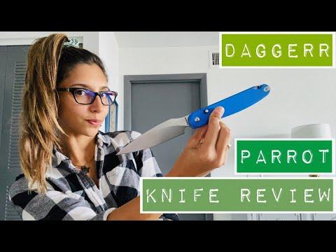 Daggerr Parrot Blue Knife Review