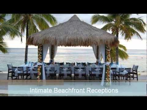 Sunset Resort Wedding Receptions Rarotonga