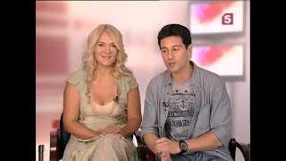 Виктория и Антон Макарские в программе
