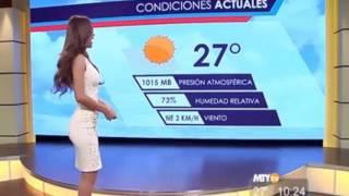 Сексуальные ведущие прогноза погоды.  Ты будешь смотреть прогноз!!!