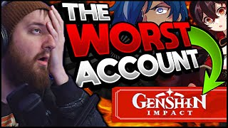 The WORST account in Genshin Impact... and how I FIXED it for 0$