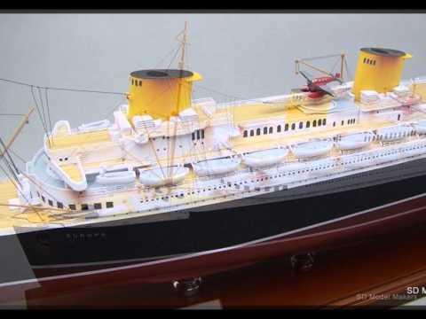 Most Amazing Ocean liner Models