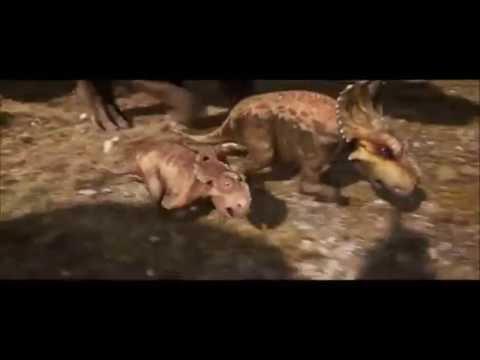 Gorgosaurus vs Pachyrhinosaurus!