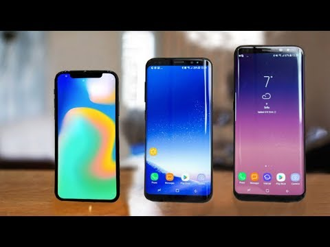 Download Youtube: iPhone X vs Samsung Galaxy S8 & S8 Plus
