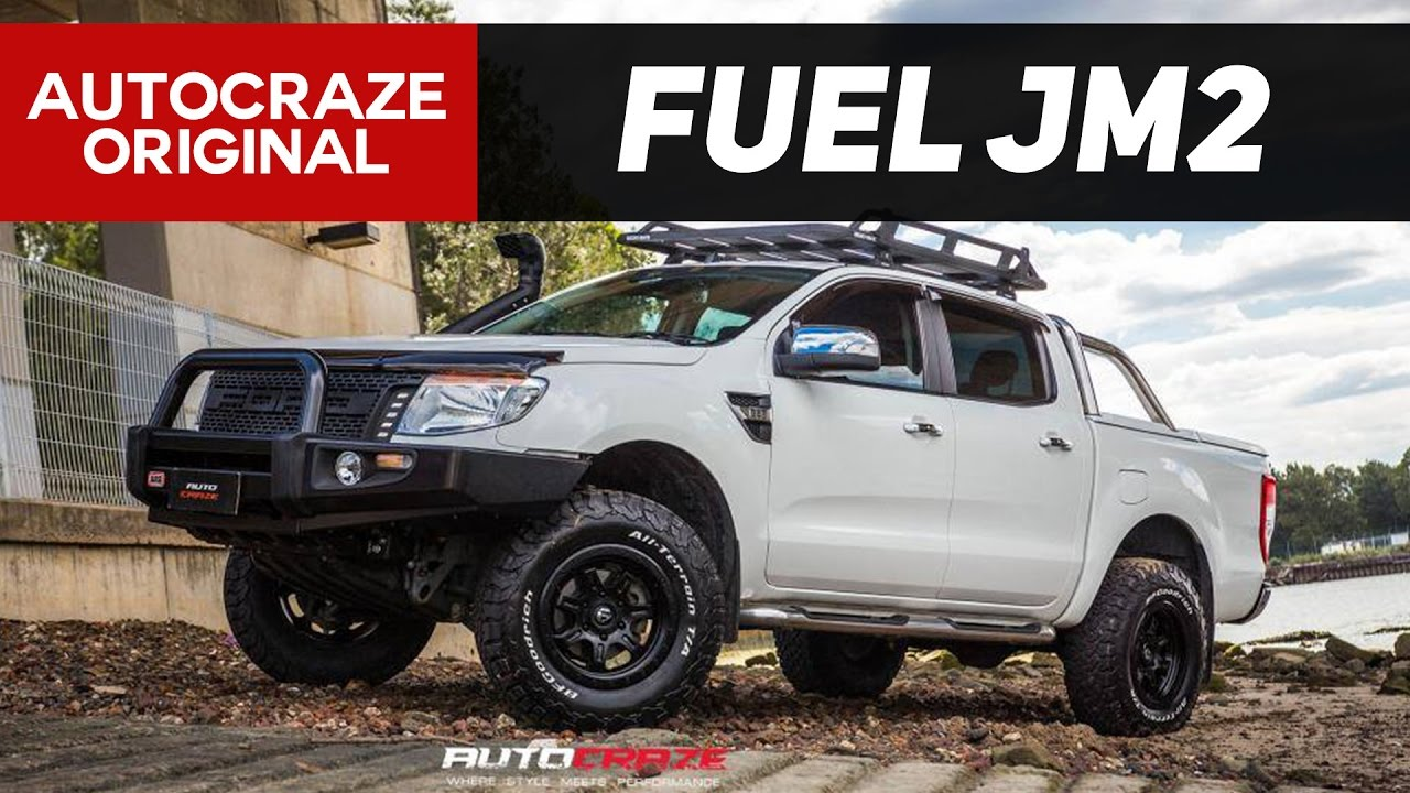 All Terrain Thrasher Fuel Jm2 Wheels Ford Ranger Xlt Rims